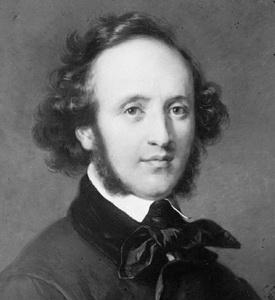 Parts of compositions,  (Mendelssohn)