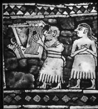 Musical instruction for anthem the king Lipit-Ishtar (c. 1950 BC),  (Hurrian-composers)