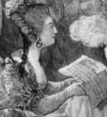 Romance `Pauvre Jacques` for vocals and harp (lyrics by Marie Antoinette) (1789),  (Bombelles-de-Travanet)