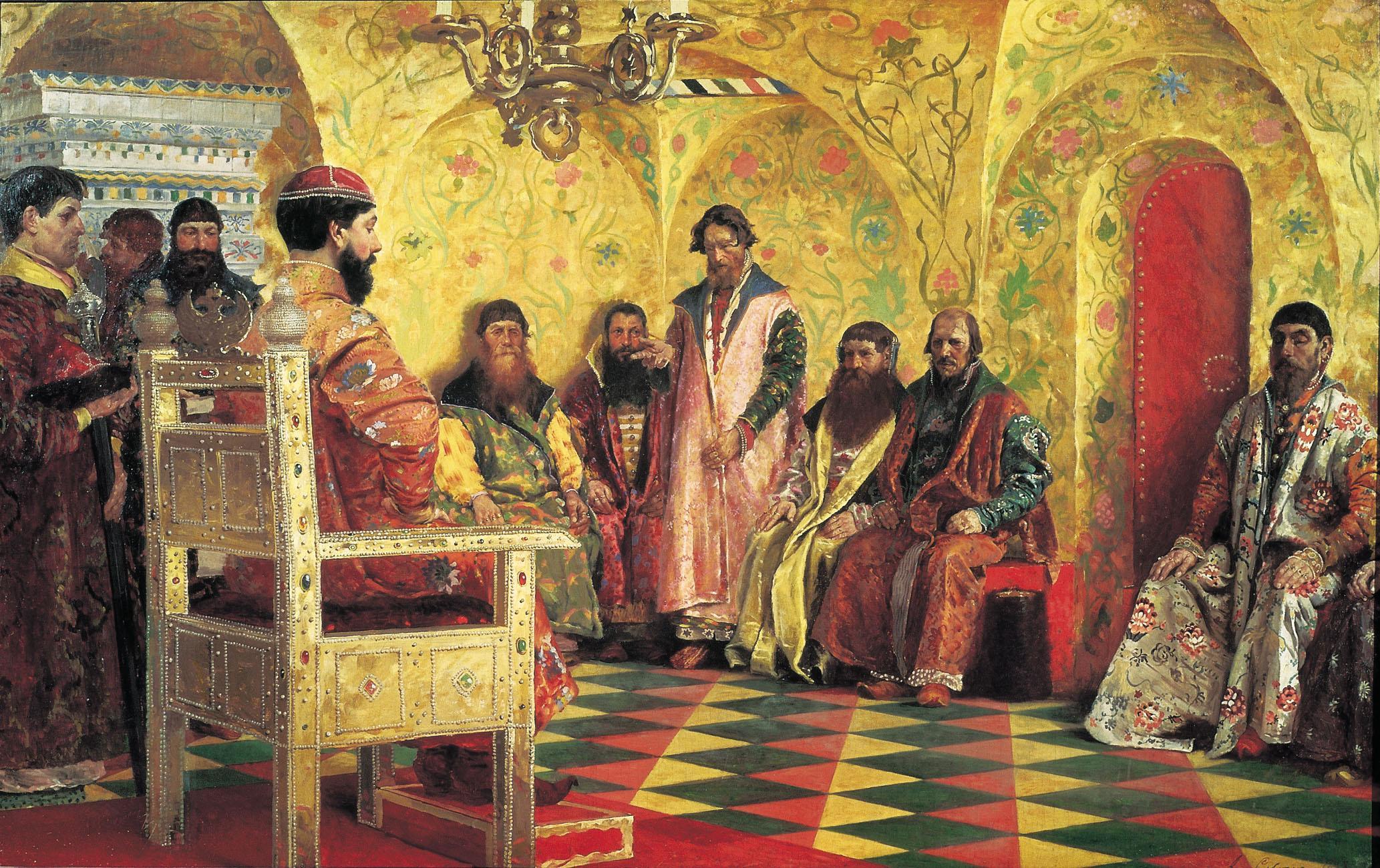 Секс при царском дворе государя 3 фотография
