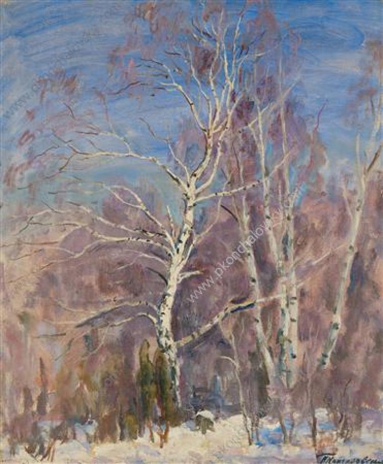 Пётр Кончаловский - Березы под снегом ...: classic-online.ru/ru/art/picture/Konchalovsky/149695
