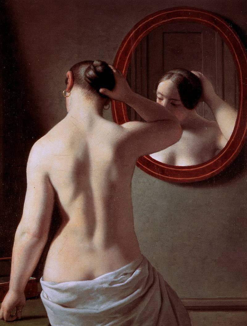 Что случится если стоять голой перед зеркалом 4 фотография