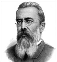 processing of Russian folk song,  (Rimsky-Korsakov)