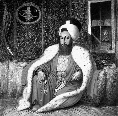 Sultan of the Ottoman Empire Selim-III