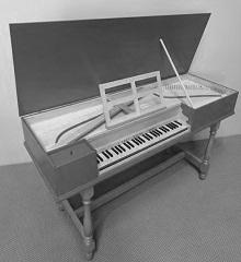 Prelude for four hand piano,  (Carleton)