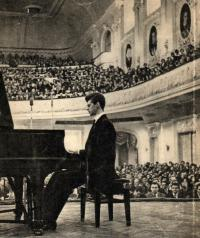 Concert for the 80th anniversary of S. M. Slonimsky,  (Concerts)